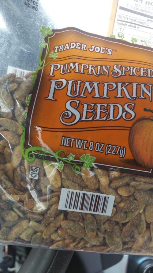 My Latest Favorite Thing From Trader Joe's – Pumpkin Spiced Pumpkin Seeds