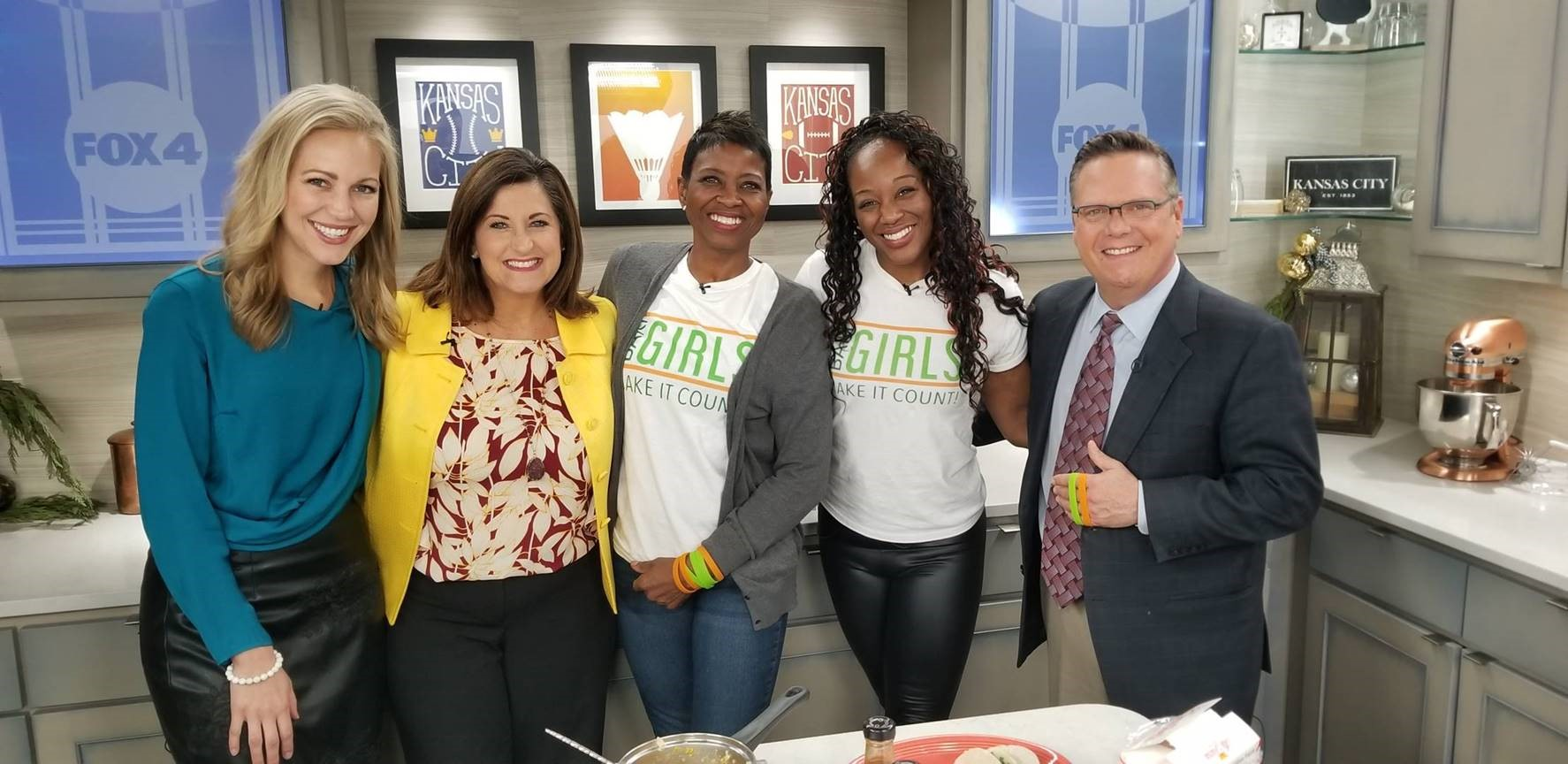 Fox4KC And The BariGirls – Quinoa Tacos!!!