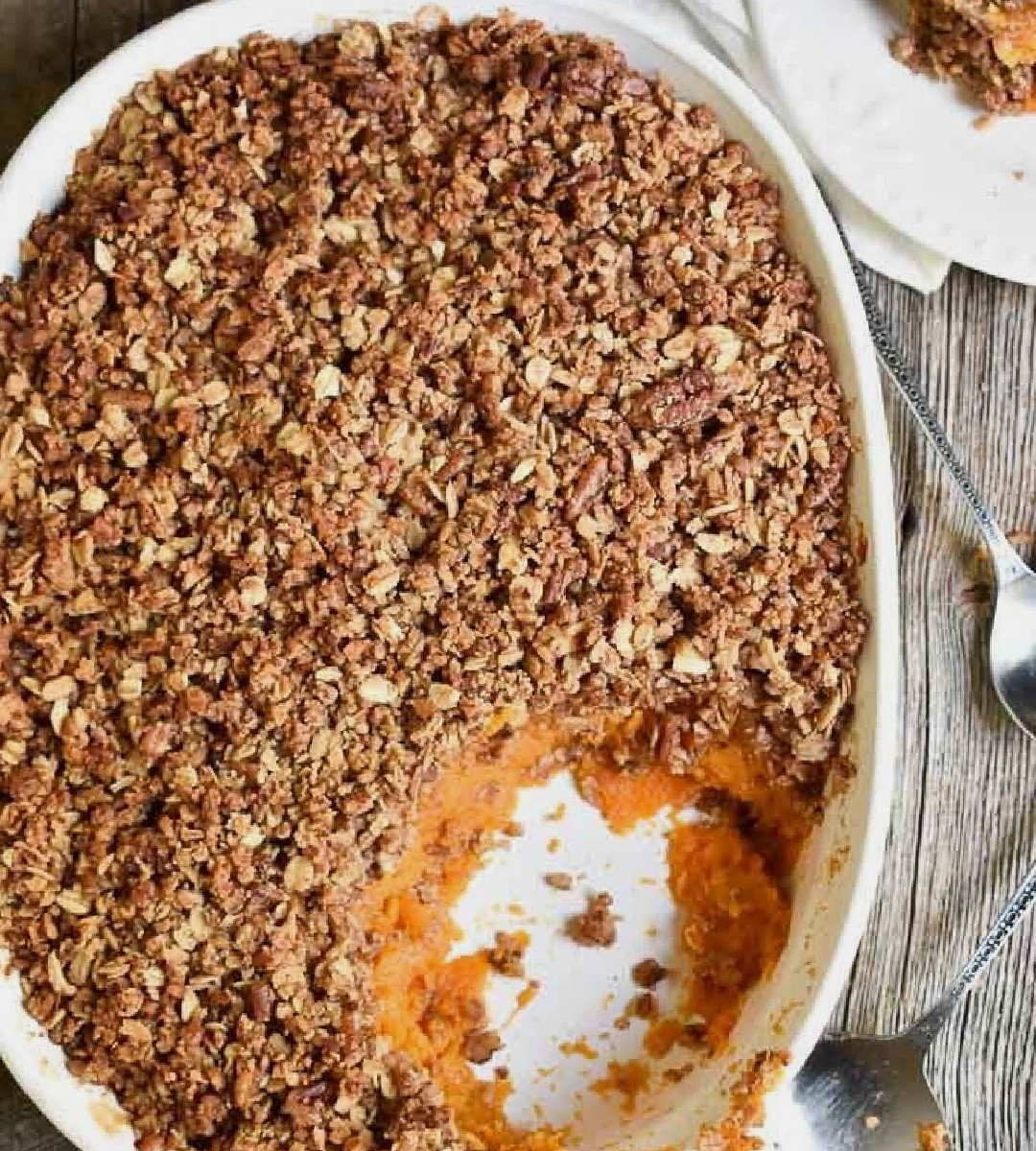 Bari Good For You Sweet Potato Casserole – As Seen On Fox4KC